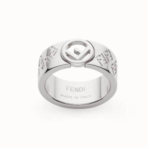FENDI フェンディ 指輪 偽物 FFリング