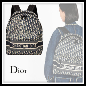 Dior(ディオール)★バキャンバス バックパック★撥水性 ロゴ 20022313