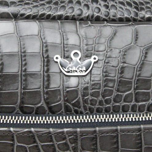 ガガミラノバッグ スーパーコピーGA-BP CROCO GRAY 13659959