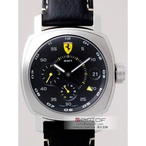 パネライ フェラーリ スーパーコピースクデリア 10デイズ GMT FER00022 45mm ブラッ