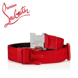 ルブタン ベルト 偽物 Louboutin loubiclic belt 3195243