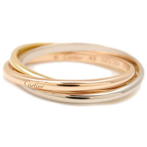 カルティエ リング コピー Cartier Triple-Colour Ring