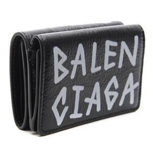 バレンシアガ 財布 コピー BALENCIAGA Graffiti メンズ折りたたみ財布 529553 0EE12 1080