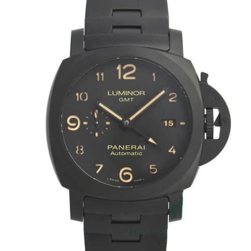 パネライ偽物トゥットネロ ルミノール GMT PAM01438