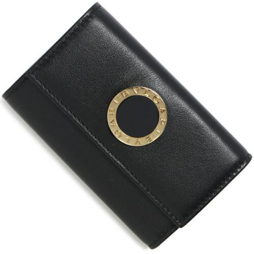 ブルガリ キーケース コピー キーケース コローレ COLORE ブラック 32394 メンズ レディース