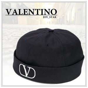 20SS◆Valentino ヴァレンティノ キャップ 偽物◆VLOGO コットンビーニー