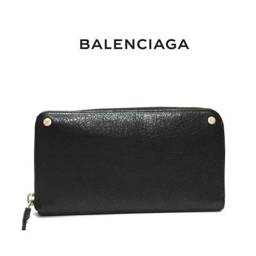 バレンシアガ 財布 コピー BALENCIAGA 長財布 541996_CU504_1000 ブラック(新品)