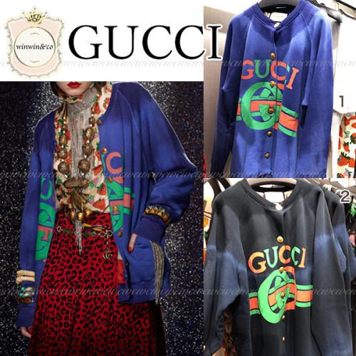 GUCCI グッチ ブルゾン型スウェットシャツ 偽物