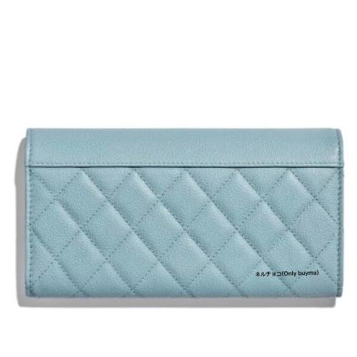 CHANEL 財布 シャネルスーパーコピー Flap Wallet 新作限定♪めっちゃ綺麗色♡