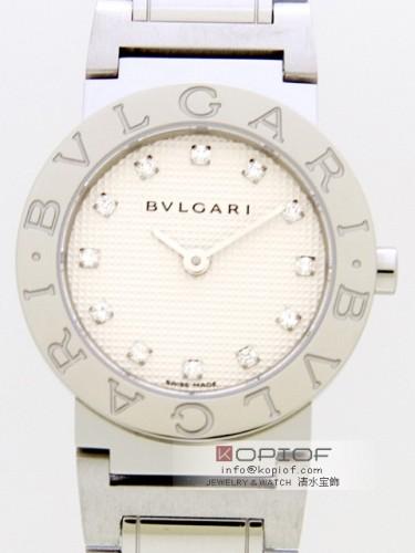 ブルガリ ブルガリブルガリ スーパーコピーBB26WSS/12/N 12Pダイヤ ホワイト