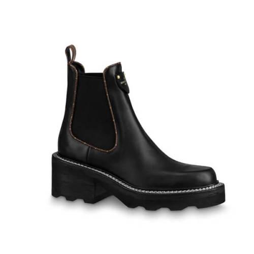 ★Louis Vuitton★秋冬アイテムを先取り♪アンクルブーツ LVボブール・ライン アンクルブーツ