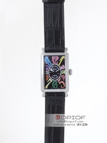 フランクミュラー ロングアイランド スーパーコピー902Q CD AC AC(SS) ブラック皮 ブラック