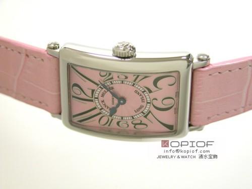 フランクミュラー ロングアイランド スーパーコピー902Q AC AC(SS) ピンク皮 ピンク