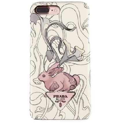 プラダ ウサギが Liberty iPhone 7 Plus Case iPhone 8 Plus ウサギ ロゴ スーパーコピー