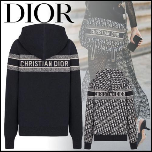 ディオー Dior Oblique カシミア リバーシブル パーカー コピー メンズも着れる