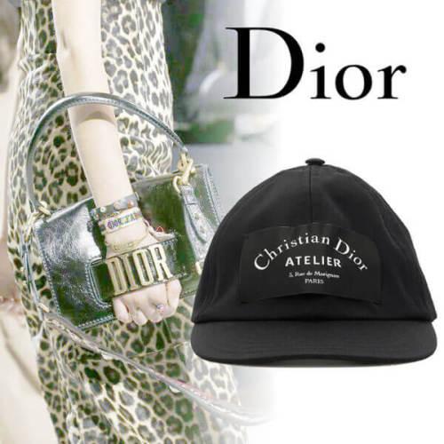 2019新作人気 Christian Dior ディオール キャップスーパーコピー Atelier Cap hat キャップ