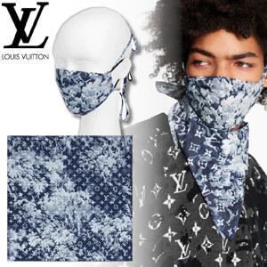 【追跡付】LouisVuitton偽物モノグラムタペストリー☆マスクとバンダナ☆セット MP2886