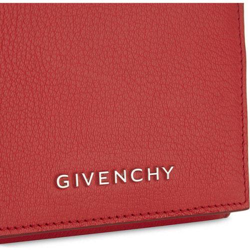 ジバンシー 財布コピーGIVENCHY Pandoraパンドラ(パンドラ)ゴートスキンシンプル財布 レッド