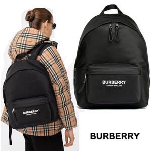 ★BURBERRY バーバリー リュック コピー ロゴ シンプル軽量リュック 男女