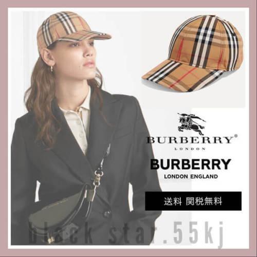 BURBERRY バーバリー キャップ コピー チェック 帽子