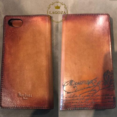 ベルルッティ スマホケース コピーBerluti IPhone 7,8 手帳型ケース