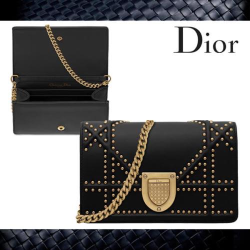 ディオールスーパーコピー DIORAMAチェーン付ベビーポーチ S0323CNOE M900 2017新作 Christian Dior