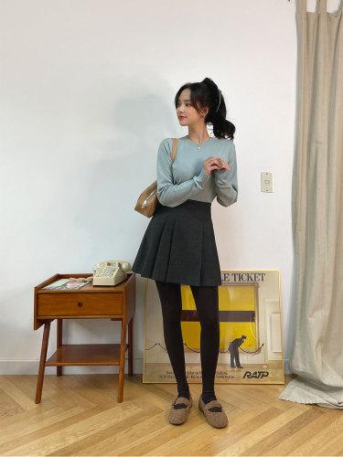 My Lovely Idea Pleats Skirt