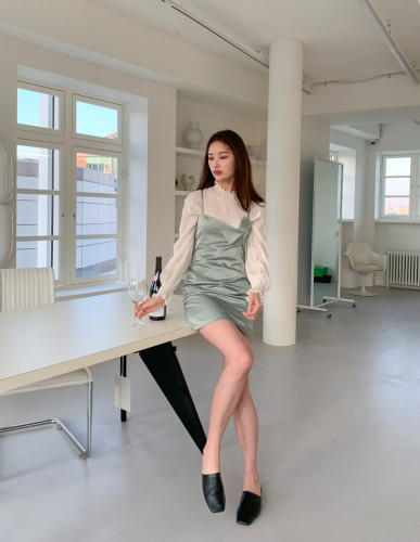 Will You Wait For Me Mini Dress