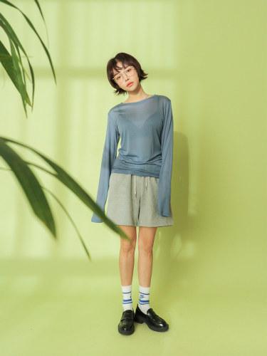 Basic Solid Tone Rayon T-Shirt
