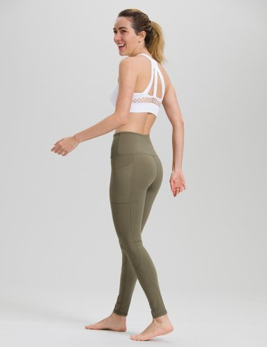 Olive Green Yoga Pants