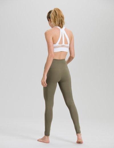 Olive Green Yoga Pants