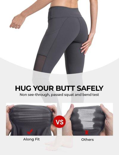 Mesh full length Yoga Pants
