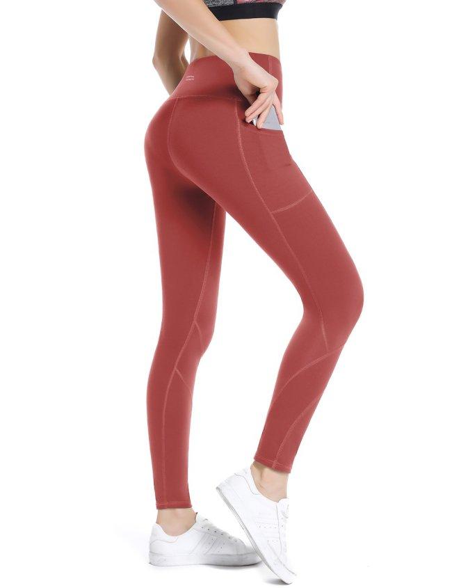 Coral Pink Yoga pants