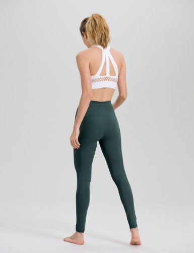 Womens Army Green yoga pants