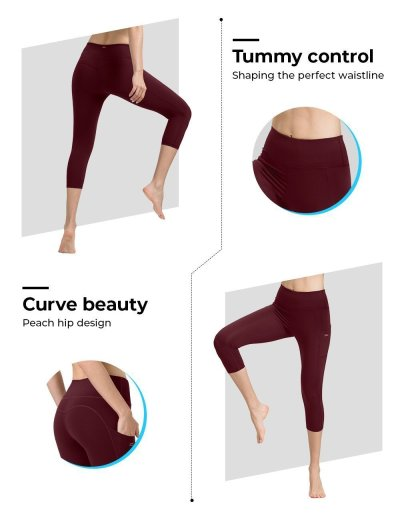 Vermilion Ladies Yoga Pants