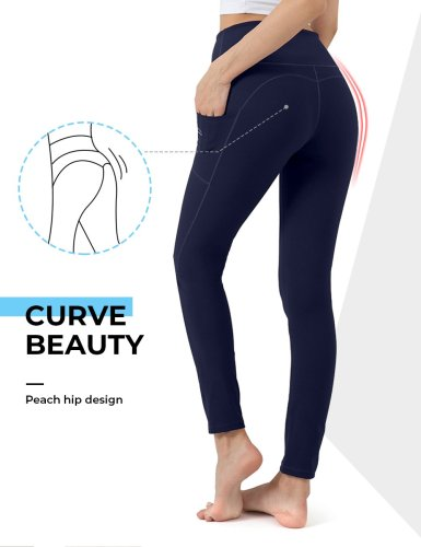 Royal Blue Women's Yoga Leggings