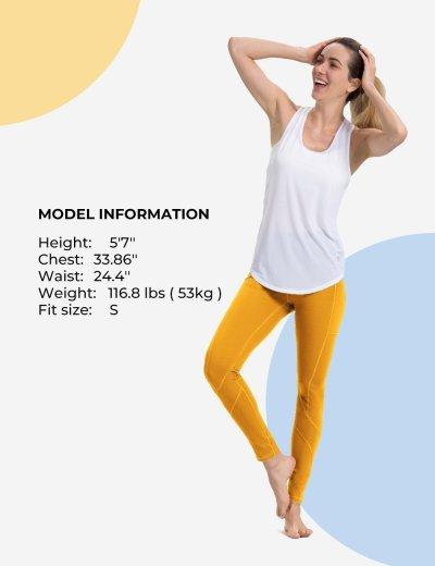 Yolk Yellow Yoga pants