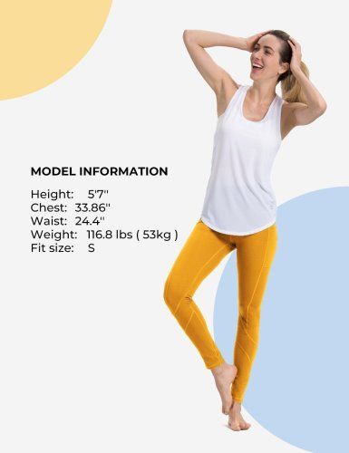 Yolk Yellow Yoga pants