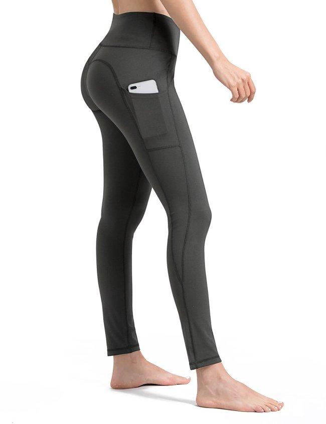 Gray Yoga Pants