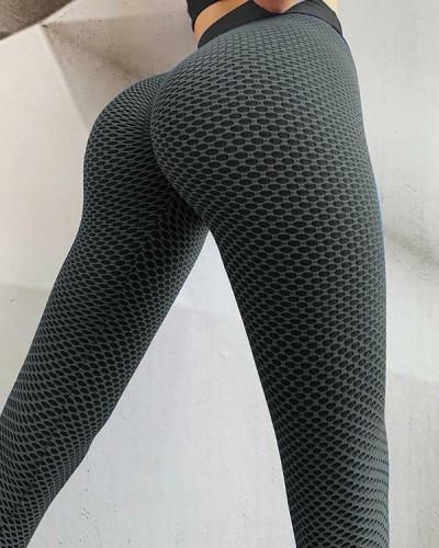 HOT SALE Viral Tiktok Honeycomb Honey Sculpt Leggings