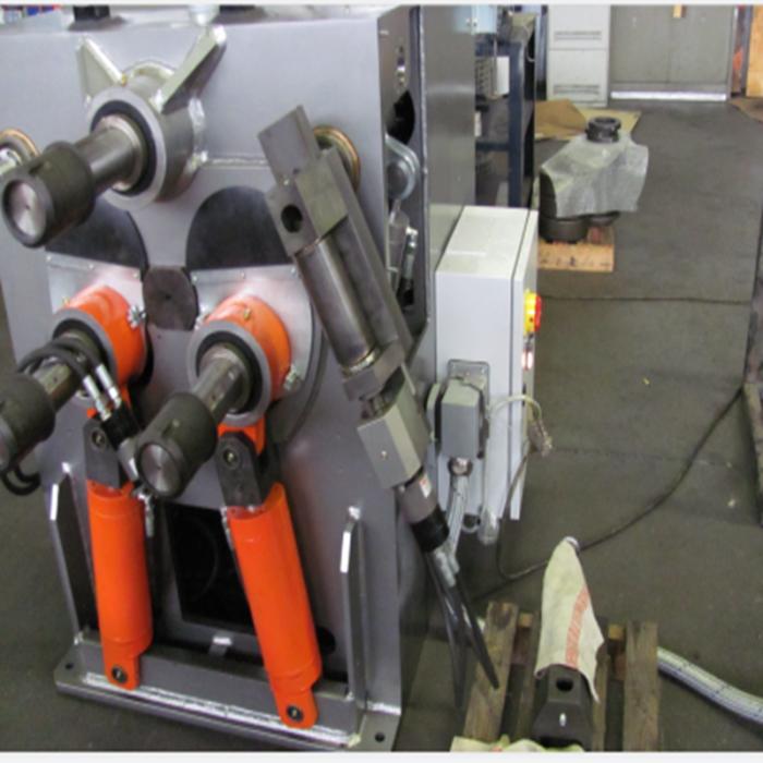 立式双轴摆线数控金属成型滚弯机