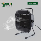 Fume Extractor Carbon Filter Quiet Fan for ESD Soldering Station Adjustable Welding Solder Smoke Absorber Remover