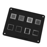 WL-55 MSM8994 MSM8974 HI3650 HI3660 CPU RAM IC Chip BGA Reballing Stencil For Huawei phone