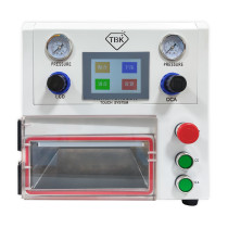 3 IN 1 TBK-108P OCA Lamination Machine  Vacuum Laminating Machine for curved screen and straight screen and Pad