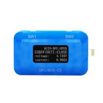 JC DFU BOX-C2 For Restoring Rebooting IOS Restore Reboot Instantly SN/ECID/MODEL Information Reading USB Current/voltage Display