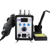 ATTEN AT8586 2-in-1 Air Soldering Station SMD Hot air rework station Digital Display