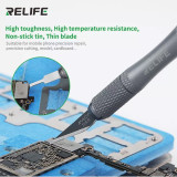 RELIFE RL-101B Set Remove Glue Motherboard IC Repair Blade CPU Knife A8 A9 A10 A11 A12 Disassemble Chip Tool
