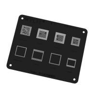Wylie WL-57 Black stencil MSM8998 MSM8956 MSM8976 MSM8996 MSM8992 CPU RAM BGA Stencil Reballing Template