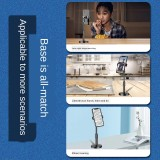 Quick hand mobile phone tiktok support desktop support Kwai lazy lazy live webcam telescopic disc artifact