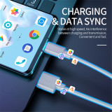 Super Fast Charger USB C Cable for Huawei P30 P20 Lite Xiaomi Mi 9 8 Quick Charge 3.0 Type C Charging for Samsung S10 9